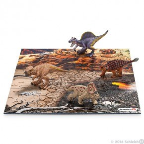 Schleich - Mini dinosaur sæt 1