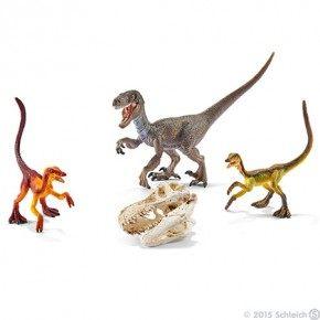 Schleich - Velociraptorer på jagt