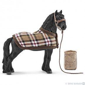 Schleich - Hesteplejesæt m. Frieser hest