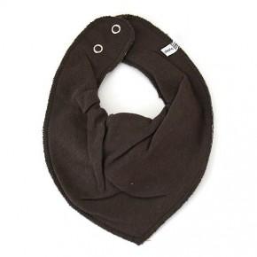 Dark Grey smæktørklæde - Pippi