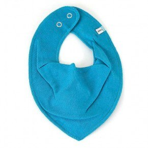 Turquise smæktørklæde - Pippi