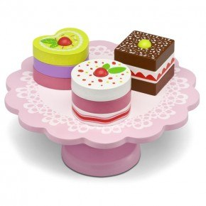 Micki kagefad med kager