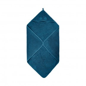 Pippi badehåndklæde m. hætte - ice blue