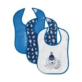 Pippi Hagesmækker 3-pak - Vallarta Blue
