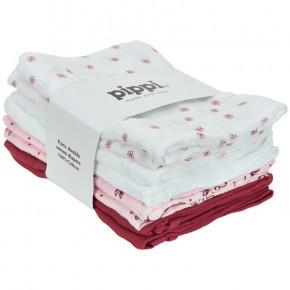 Pippi stofbleer 8 pak - lyserød