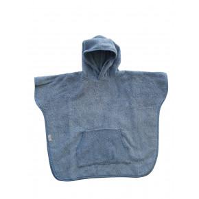 BabyDan Poncho (1-2 år) – dusty blue