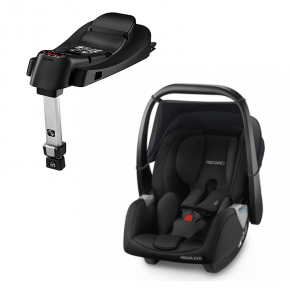 Recaro Privia Evo (Sort) + SmartClick Base