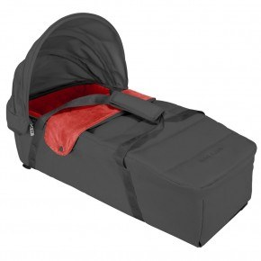 Maclaren XLR Babylift - Charcoal/Scarlet