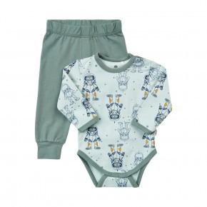 CeLaVi Baby Pyjamassæt - Grøn