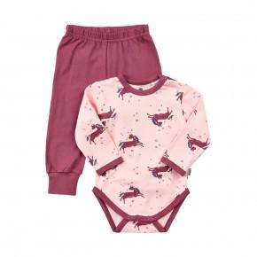 CeLaVi Baby Pyjamassæt - lyserød