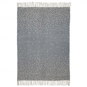 Guld/grå tæppe - Done by deer
