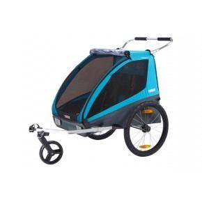 Thule Coaster XT Cykeltrailer inkl. klapvognsæt
