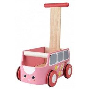 Pink gåvogn - Plantoys