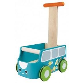 Blå gåvogn - Plantoys