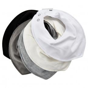 Pippi smæktørklæde 5-pak - hvid