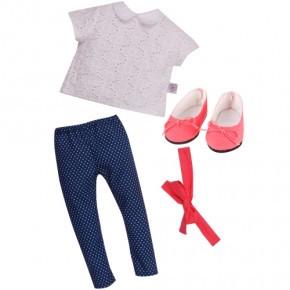 DesignaFriend Boho Chic Outfit, Dukketøj