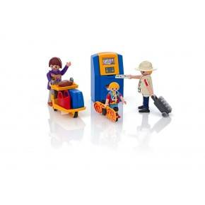 Familie ved check-in (5399) - Playmobil