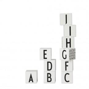 Design letters - ABC cubes