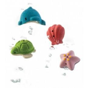 Badesæt med havdyr - Plantoys