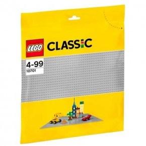 Grå byggeplade - Lego