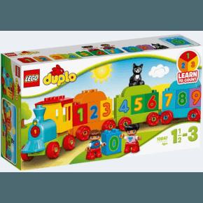 Tog med tal - Lego Duplo