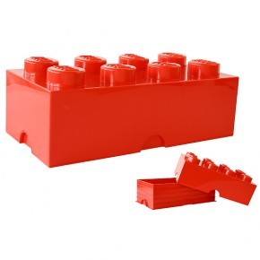 LEGO Opbevaringskasse 8 - Rød