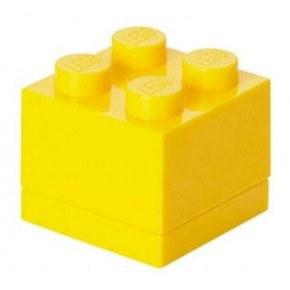 LEGO Mini Box 4 - Yellow