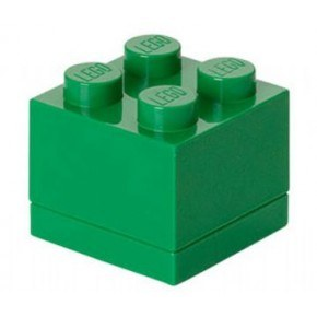 LEGO Mini Box 4 - Dark Green