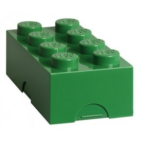 LEGO Classic 8 Dark Green Madkasse