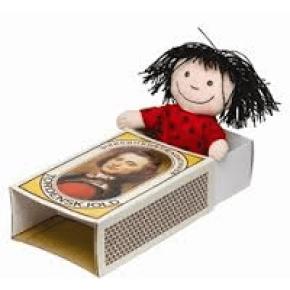 Krea Cirkeline-dukke i tændstikæske