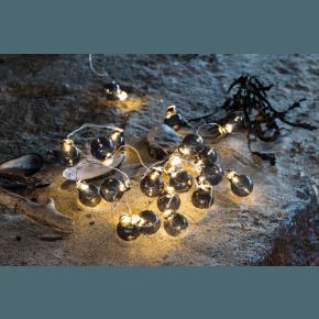 Sirius Io Lyskæde - Smoke/Sølv