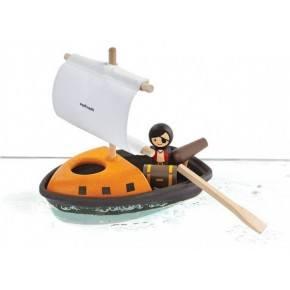 Piratbåd - Plantoys