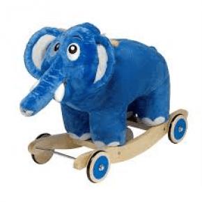 Krea Bodil elefant - Gyngehest