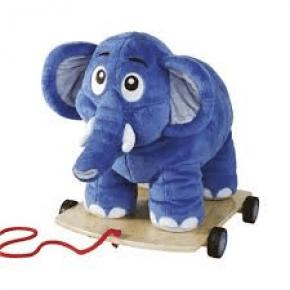Krea Bodil elefant - stor