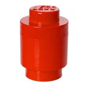 LEGO Opbevaringsboks Rund 1 - Rød
