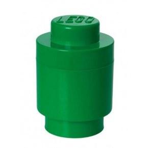 LEGO Opbevaringsboks Rund 1 - Grøn