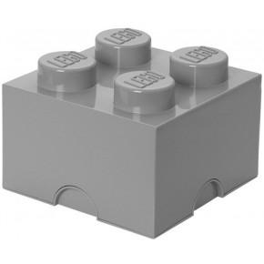 LEGO Opbevaringskasse 4 - Grå