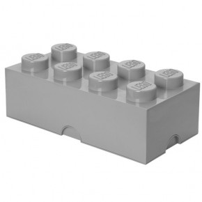 LEGO Opbevaringskasse 8 - Grå