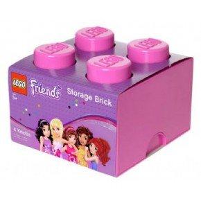 Lego Friends Opbevaringsboks 4 - Pink