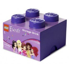 Lego Friends Opbevaringsboks 4 - Lilla