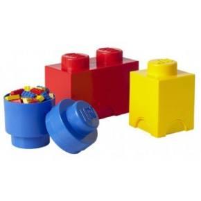 Lego opbevarings sæt - 3 stk.