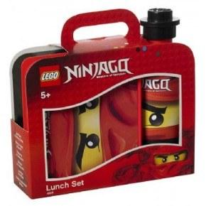Lego Ninjago - Madkase og Drikkedunk sæt