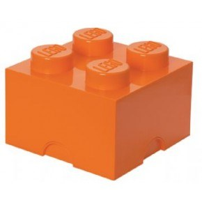 LEGO Opbevaringskasse 4 - Orange