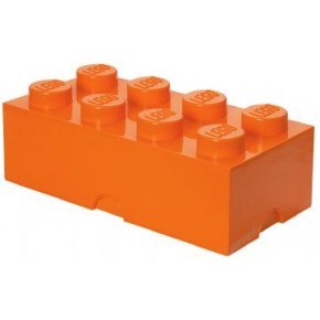 LEGO Opbevaringskasse 8 - Orange
