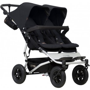 Mountain Buggy Klapvogn - Double duet v.3, Black