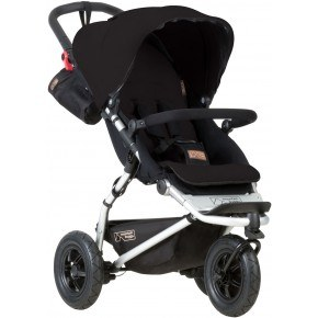 Mountain Buggy Klapvogn - Swift, Black