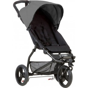 Mountain Buggy Klapvogn - Mini, Silver