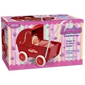 My Baby Love Træ dukkevogn - Rød