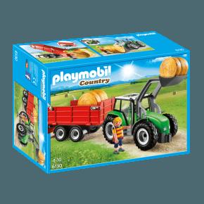 Stor Traktor med anhænger (6130) - Playmobil