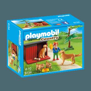 Golden Retriever familie (6134) - Playmobil